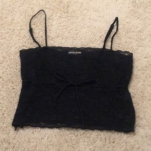 Cropped camisole